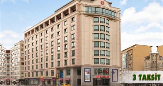 Ramada Plaza İstanbul City Center'da çift kişilik 1 gece konaklama seçenekleri 149 TL'den başlayan fiyatlarla! Fırsatın geçerlilik tarihi için, DETAYLAR bölümünü inceleyiniz.