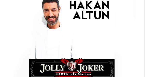 5 Nisan'da Jolly Joker Kartal İstMarina Sahnesi'nde gerçekleşecek Hakan Altun konserine biletler