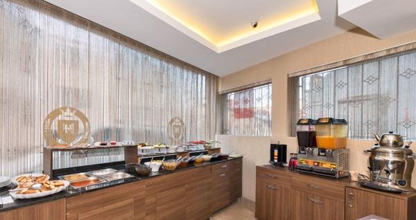 Şişli Montagna Hera Hotel'de kahvaltı ve Türk kahvesi keyfi 20 TL'den başlayan fiyatlarla! Fırsatın geçerlilik tarihi için DETAYLAR bölümünü inceleyiniz.