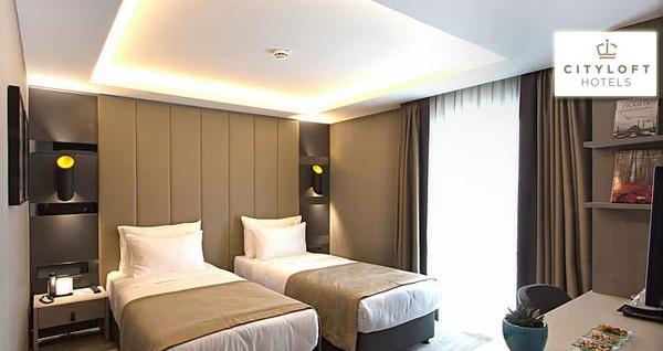 Cityloft Hotel Ataşehir'de çift kişilik 1 gece konaklama seçenekleri 189 TL'den başlayan fiyatlarla! Fırsatın geçerlilik tarihi için DETAYLAR bölümünü inceleyiniz.