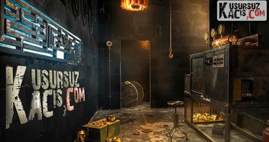 """Heyecan dolu bir film serüveninin içinde başrol oyuncusu sizsiniz! """"Kusursuz Kaçış"""" adlı evden kaçış oyununa 2-5 kişilik oyun grubu için giriş 49 TL'den başlayan fiyatlarla! 15 Ocak 2015 tarihine kadar geçerlidir. TEK KUPON SATIN ALIMIYLA 2 İLE 5 KİŞİ ARASINDA BİR GRUP OYUN OYNAYABİLİR."""
