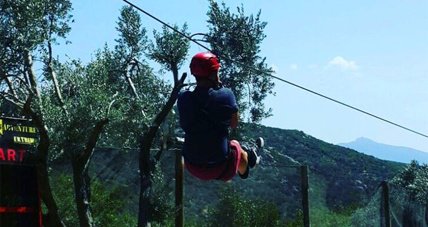 Bornova Homeros Adventure Doğa Sporları Merkezi'nde 20 etaplık macera parkuru, 300 mt. zip-line, dev tırmanma duvarı ve mangal keyfi 79,90 TL yerine 44,90 TL! Fırsatın geçerlilik tarihi için, DETAYLAR bölümünü inceleyiniz.