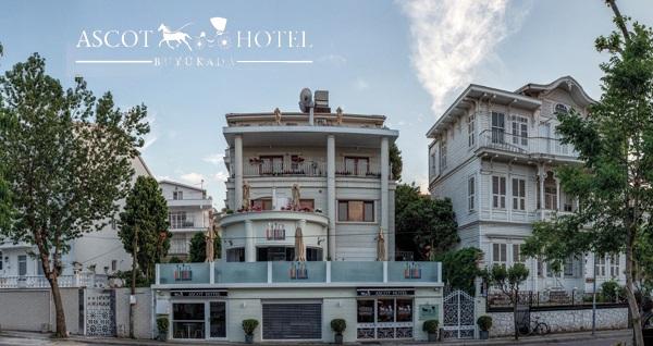 Ascot Hotel Büyükada'da kahvaltı dahil çift kişilik 1 gece konaklama seçenekleri 219 TL'den başlayan fiyatlarla! Fırsatın geçerlilik tarihi için DETAYLAR bölümünü inceleyiniz.