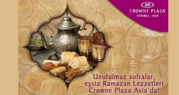 Pendik Crowne Plaza Istanbul-Asia'da canlı fasıl eşliğinde açık büfe iftar menüsü 99 TL'den başlayan fiyatlarla! Bu fırsat 6 Mayıs - 3 Haziran 2019 tarihleri arasında, iftar saatinde geçerlidir.
