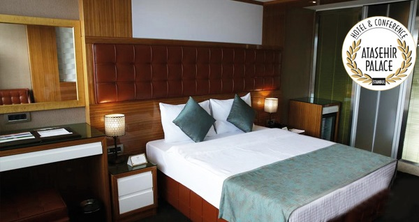 Ataşehir Palace Hotel'de çift kişilik 1 gece konaklama 149 TL'den başlayan fiyatlarla! Fırsatın geçerlilik tarihi için, DETAYLAR bölümünü inceleyiniz.