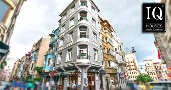 İstanbul'un kalbi Taksim IQ Houses Apartment'te 1 gece konaklama farklı kişi sayısı seçenekleriyle 199 TL'den başlayan fiyatlarla! Fırsatın geçerlilik tarihi için DETAYLAR bölümünü inceleyiniz.