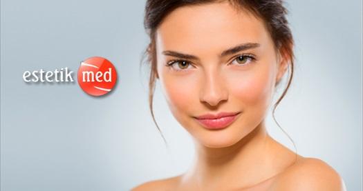 Estetikmed 9 şubesinde geçerli cildinizi şımartan yenilik ve bakımlar 15 TL'den başlayan fiyatlarla! Fırsatın geçerlilik tarihi için DETAYLAR bölümünü inceleyiniz.