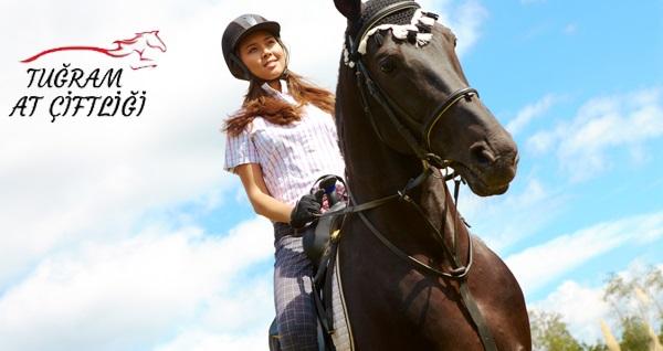 Gölbaşı Tuğram At Çiftliği'nde 30 ve 60 dakika seçenekleri ile doğada at biniciliği temel teknik dersi ve at binme 49,90 TL'den başlayan fiyatlarla! Fırsatın geçerlilik tarihi için, DETAYLAR bölümünü inceleyiniz.