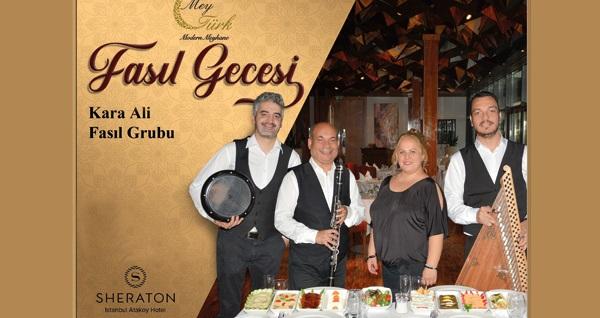 Sheraton İstanbul Ataköy Hotel'de çilingir sofrası 169 TL'den başlayan fiyatlarla! Fırsatın geçerlilik tarihi için DETAYLAR bölümünü inceleyiniz.