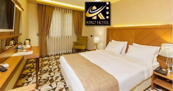 Atro Hotel'de çift kişilik konaklama keyfi 199 TL! Fırsatın geçerlilik tarihi için DETAYLAR bölümünü inceleyiniz.