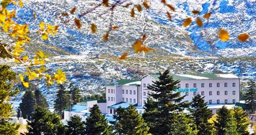 Kar tatilinin ayrıcalıklı adreslerinden Büyük Otel Uludağ'da çift kişilik odada kişi başı 1 gece HER ŞEY DAHİL konaklama seçenekleri 79 TL'den başlayan fiyatlarla! Fırsatın geçerlilik tarihi için, DETAYLAR bölümünü inceleyiniz.