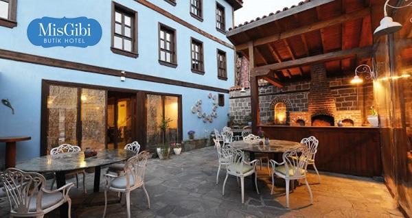 Bursa Mis Gibi Butik Otel'de serpme köy kahvaltısı dahil çift kişilik 1 gece konaklama seçenekleri 189 TL'den başlayan fiyatlarla! Fırsatın geçerlilik tarihi için, DETAYLAR bölümünü inceleyiniz.