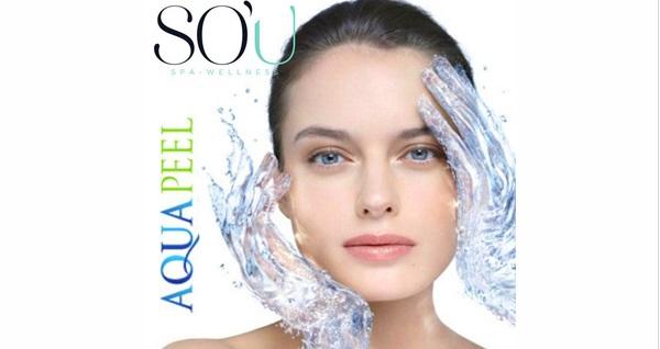 Acıbadem Akasya So'u Spa & Wellness'ta Aqua peel uygulaması 310 TL yerine 190 TL! Fırsatın geçerlilik tarihi için DETAYLAR bölümünü inceleyiniz.