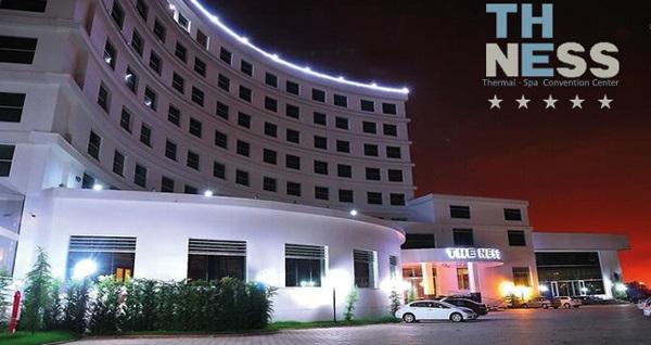 Kocaeli The Ness Thermal Hotel'de yılbaşı gala programı ve konaklama seçenekleri 329 TL'den başlayan fiyatlarla! YILBAŞINA ÖZEL; 31 Aralık 2018 gecesi geçerlidir.