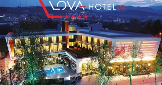 Yalova'nın yeni yüzü Lova Hotel Spa'da çift kişilik 1 gece konaklama seçenekleri 399 TL'den başlayan fiyatlarla! Fırsatın geçerlilik tarihi için DETAYLAR bölümünü inceleyiniz.