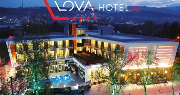 Yalova'nın yeni yüzü Lova Hotel Spa'da çift kişilik 1 gece konaklama seçenekleri