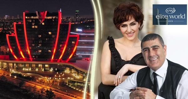 Elite World Asia Hotel'de limitsiz yerli içecek eşliğinde Eda Metin Özülkü ile yılbaşı programı