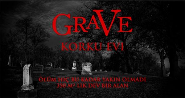 Mezarlık konsepti ile Türkiye'nin en sıradışı korku evi Grave Korku Evi'ne 3-10 kişilik oyun grubu için giriş 50 TL yerine 35 TL! Fırsatın geçerlilik tarihi için DETAYLAR bölümünü inceleyiniz.