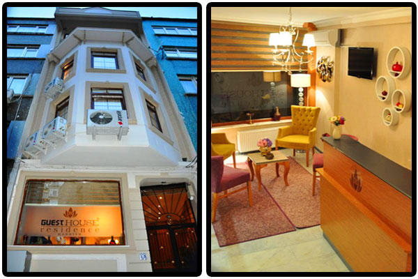 Guest house 39 ta kahvalt dahil ift ki ilik 1 gece for Guest house harbiye