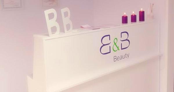 B&B Güzellik ve Estetik Merkezi'nde cilt bakımı, incelme paketi, lipoliz , ayak detoksu veya istenmeyen tüy uygulamaları 19 TL'den başlayan fiyatlarla! Fırsatın geçerlilik tarihi için DETAYLAR bölümünü inceleyiniz. B&B Beauty Estetik, Pazar günleri hariç haftanın diğer günleri 9:30-19:30 saatleri arasında hizmet vermektedir.