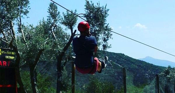 Bornova Homeros Adventure Doğa Sporları Merkezi'nde serpme kahvaltı veya 20 etaplık macera parkuru, 300 mt. zip-line, dev tırmanma duvarı ve serpme kahvaltı 19,90 TL'den başlayan fiyatlarla! Fırsatın geçerlilik tarihi için, DETAYLAR bölümünü inceleyiniz.
