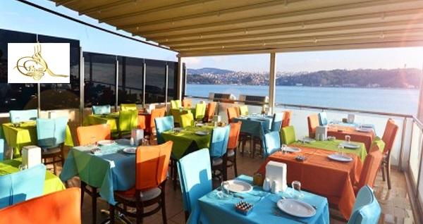 Boğaz kıyısında Yalı Cafe'de akşam yemeği menüsü 95 TL! Fırsatın geçerlilik tarihi için DETAYLAR bölümünü inceleyiniz.
