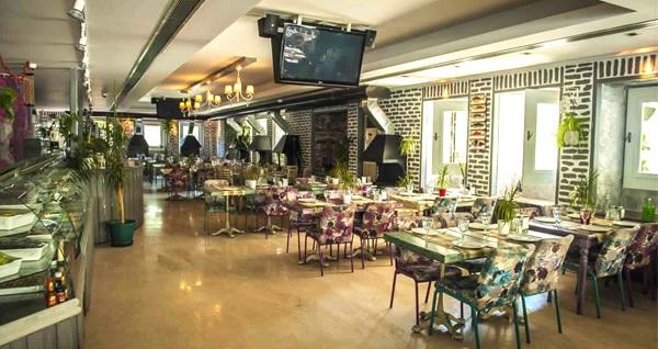 Bahçelievler Hüsnü Et Balık Mangal'da zengin iftar menüsü kişi başı 69 TL! 6 Mayıs - 3 Haziran 2019 tarihleri arasında, iftar saatinde geçerlidir.