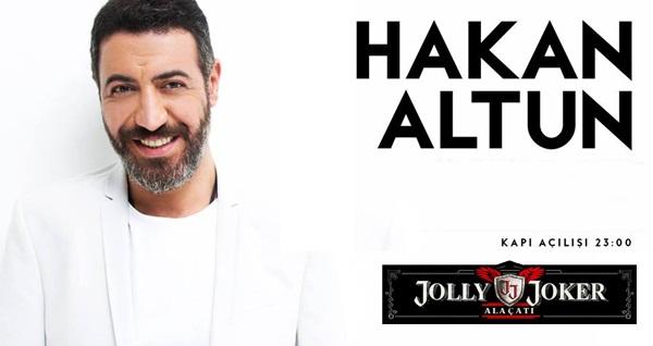30 Ağustos'ta Jolly Joker Alaçatı Sahnesi'nde gerçekleşecek Hakan Altun konserine biletler 99,90 TL'den başlayan fiyatlarla! 30 Ağustos 2019 | 23:00 | Jolly Joker Alaçatı Sahnesi