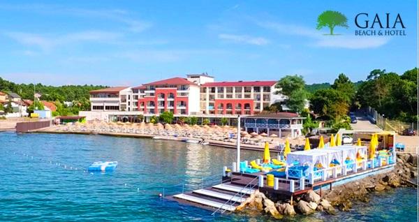 Kerpe Gaia Beach Hotel'de 1 gece çift kişilik kahvaltı dahil konaklama seçenekleri 279 TL'den başlayan fiyatlarla! Fırsatın geçerlilik tarihi için DETAYLAR bölümünü inceleyiniz.