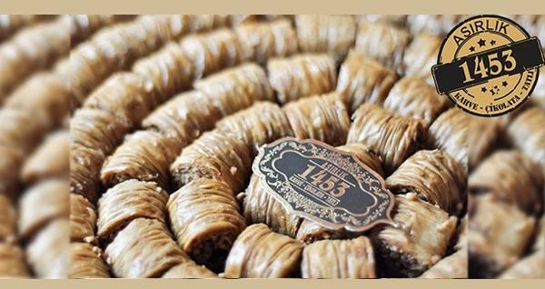 1453 Kahve & Çikolata - Tatlı şubelerinde enfes lezzetler 29 TL'den başlayan fiyatlarla! Fırsatın geçerlilik tarihi için DETAYLAR bölümünü inceleyiniz.