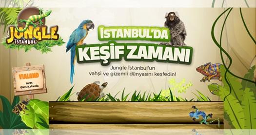 Dünyanın en egzotik ve vahşi canlıları ile göz göze geleceğiniz Jungle İstanbul'a giriş 20 TL yerine 12 TL! Fırsatın geçerlilik tarihi için DETAYLAR bölümünü inceleyiniz.