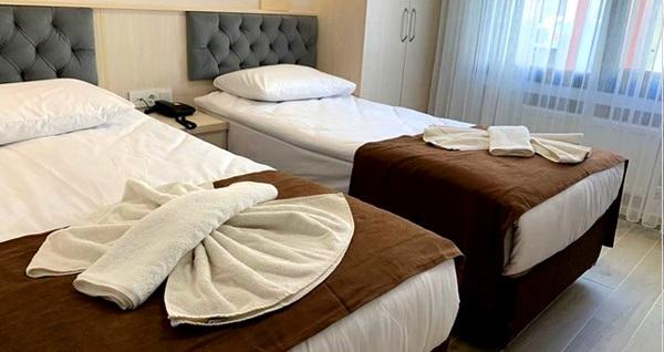 Sim Hotel Aksaray'da kahvaltı dahil 1 gece konaklama seçenekleri 199 TL'den başlayan fiyatlarla! Fırsatın geçerlilik tarihi için DETAYLAR bölümünü inceleyiniz.
