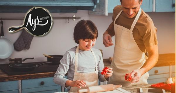 Çankaya Ays Kitchen'da çocuklar ve yetişkinler için yemek atölyeleri 59 TL'den başlayan fiyatlarla! Fırsatın geçerlilik tarihi için DETAYLAR bölümünü inceleyiniz.