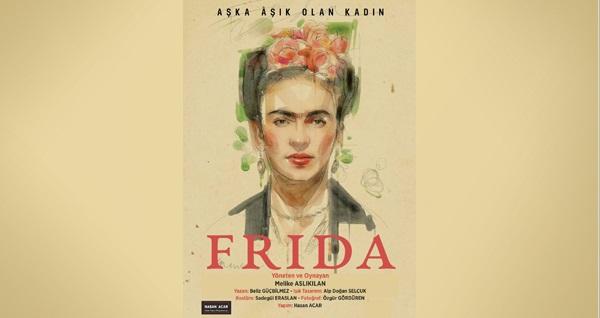 """''Frida Kahlo'' oyununa biletler 68 TL yerine 45 TL! Tarih ve konum seçimi yapmak için """"Hemen Al"""" butonuna tıklayınız."""