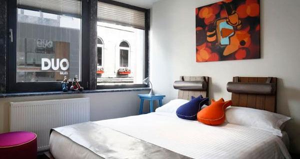Duo Galata Hotel'de Galata Kulesi manzaralı 2 kişi 1 gece konaklama seçenekleri
