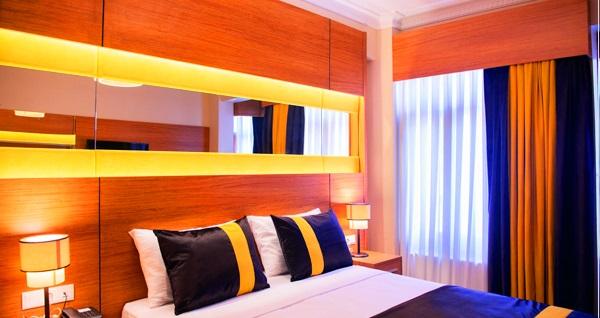 Karamans Sirkeci Suites Hotel'de çift kişilik 1 gece konaklama seçenekleri 219 TL'den başlayan fiyatlarla! Fırsatın geçerlilik tarihi için DETAYLAR bölümünü inceleyiniz.