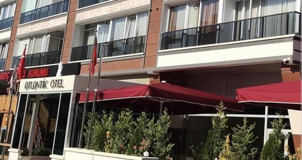 Ankara Atlantik Otel'de kahvaltı dahil çift kişilik 1 gece konaklama 300 TL yerine 249 TL! Fırsatın geçerlilik tarihi için DETAYLAR bölümünü inceleyiniz.