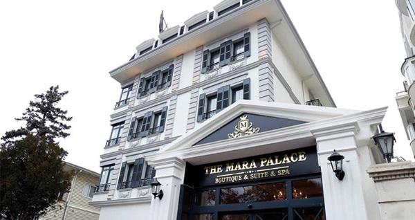 The Mara Palace Ankara'da kahvaltı dahil çift kişilik 1 gece konaklama 189 TL! Fırsatın geçerlilik tarihi için, DETAYLAR bölümünü inceleyiniz.