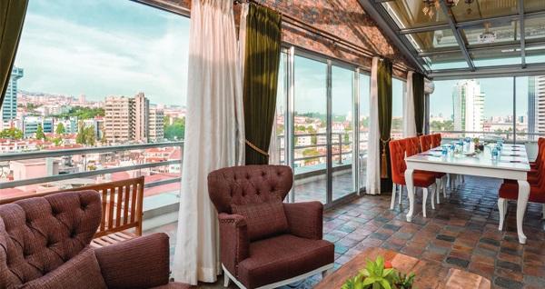 Çankaya Ramada Ankara'da çift kişilik 1 gece konaklama seçenekleri 189 TL'den başlayan fiyatlarla! Fırsatın geçerlilik tarihi için, DETAYLAR bölümünü inceleyiniz.