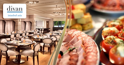 Divan istanbul asia brasserie restaurant 39 ta anneler g n for Divan istanbul asia
