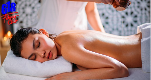618 Fitness Clup A&Y Spa'da masaj seçenekleri, kese köpük ve ıslak alan kullanımı