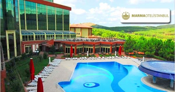 Maltepe Marma Otel'de ormanın içinde tatil köyü ambiyansı eşliğinde havuz girişi 69 TL'den başlayan fiyatlarla! Fırsatın geçerlilik tarihi için DETAYLAR bölümünü inceleyiniz.
