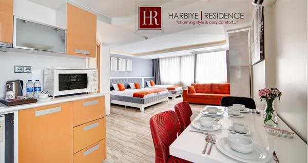 Harbiye Residence'ın büyüleyici atmosferinde 2, 3 veya 4 kişilik 1 gece konaklama 150 TL'den başlayan fiyatlarla! Fırsatın geçerlilik tarihi için DETAYLAR bölümünü inceleyiniz.