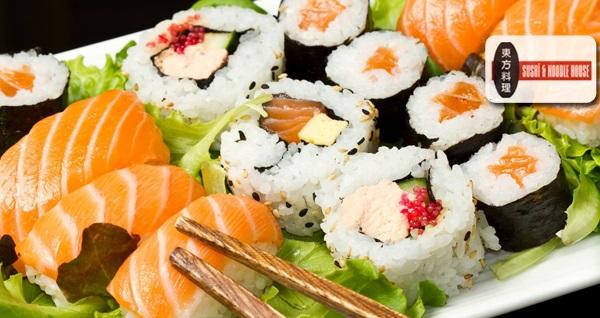 EKSTRA İNDİRİM!24 adet sushi menü 108 TL yerine 45 TL! Fırsatın geçerlilik tarihi için DETAYLAR bölümünü inceleyiniz. Hafta içi her gün 12.00 - 21.30, Cumartesi ve Pazar günü ise 16.00 - 22.00 saatleri arasında geçerlidir. Eve serviste geçerli değildir.