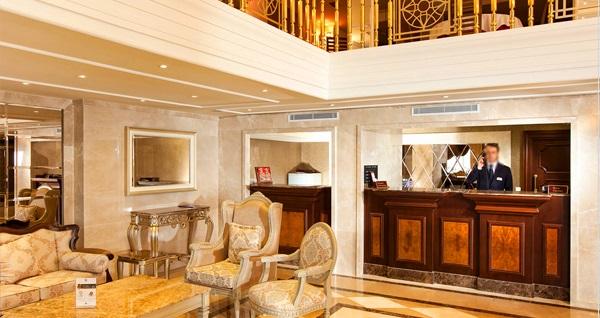 Beyoğlu Grand Hotel Haliç'te tek veya çift kişilik 1 gece konaklama keyfi 199 TL'den başlayan fiyatlarla! Fırsatın geçerlilik tarihi için DETAYLAR bölümünü inceleyiniz.