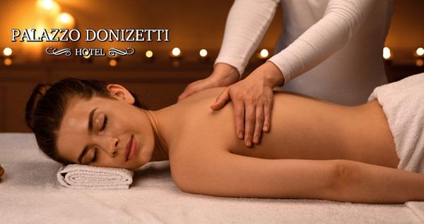 Palazzo Donizetti Otel Viento Spa'da masaj seçenekleri