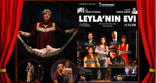 """Zülfü Livaneli'nin """"Leyla'nın Evi"""" oyununa biletler 70 TL yerine 42 TL! Tarih ve konum seçimi yapmak için """"Hemen Al"""" butonuna tıklayınız."""