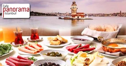 Salacak Sahil Yolu Cafe Panorama İstanbul'da tarihi yarımada ve Kızkulesi'ne nazır açık büfe kahvaltı veya kahvaltı tabağı 16,90 TL'den başlayan fiyatlarla! Fırsatın geçerlilik tarihi için DETAYLAR bölümünü inceleyiniz.