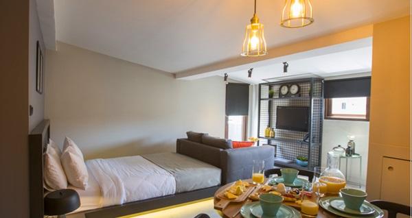 Cityloft 36 Suites Hotel'de farklı oda seçenekleriyle çift kişilik 1 gece konaklama seçenekleri 179 TL'den başlayan fiyatlarla! Fırsatın geçerlilik tarihi için DETAYLAR bölümünü inceleyiniz.