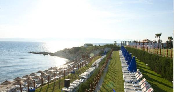 Çeşme Pırıl Termal Hotel Dilaila Beach'te serpme kahvaltı veya plaj girişi 42,50 TL'den başlayan fiyatlarla! Fırsatın geçerlilik tarihi için DETAYLAR bölümünü inceleyiniz.